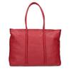 Červená kožená kabelka bata, červená, 964-5604 - 16