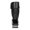 Dámske čierne zimné topánky s výraznou podrážkou bata, čierna, 599-6622 - 15