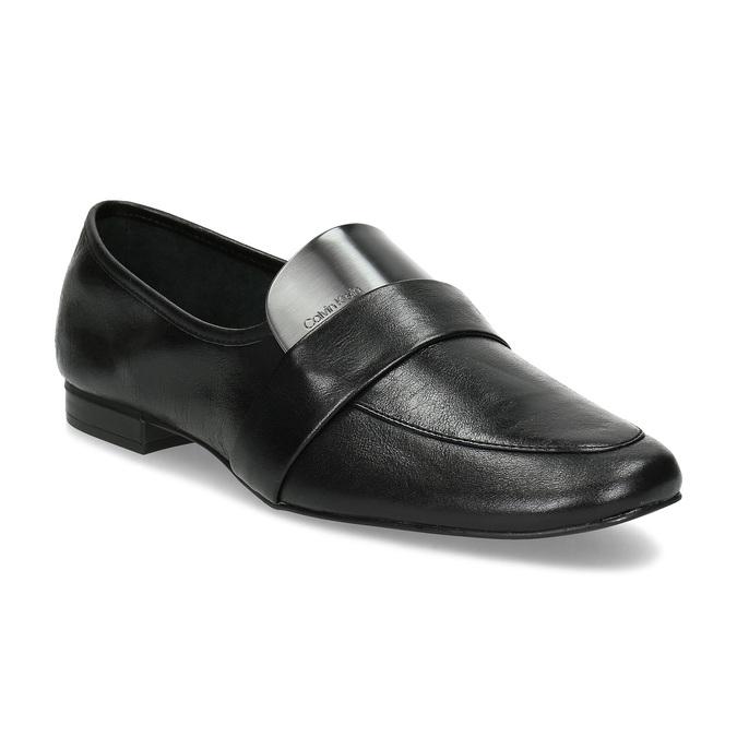 9316234aa3 Calvin Klein Kožené dámske čierne mokasíny - Všetky topánky