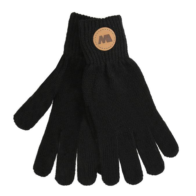Čierne pánske textilné rukavice weinbrenner, čierna, 909-6733 - 13