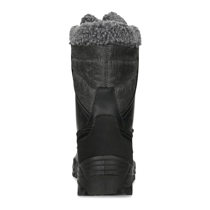 Pánske zimné snehule so zateplením weinbrenner, čierna, 896-6730 - 15