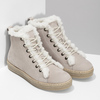 Kožená členková zimná obuv s kožúškom weinbrenner, béžová, 596-8730 - 26
