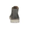 Pánska členková obuv z brúsenej kože weinbrenner, šedá, 896-2735 - 15