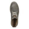 Pánska členková obuv z brúsenej kože weinbrenner, šedá, 896-2735 - 17