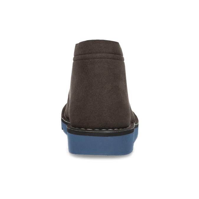 Hnedá pánska členková obuv bata-b-flex, hnedá, 899-4600 - 15