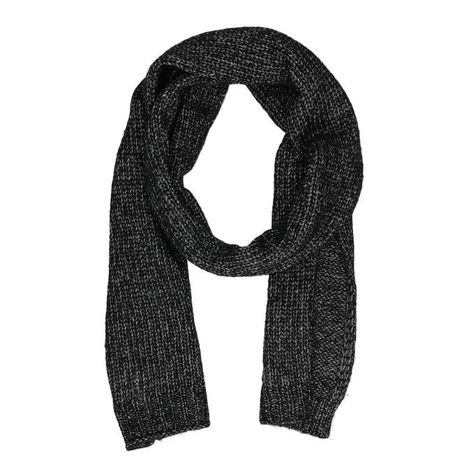 Sada pleteného šálu a čiapky bata, viacfarebné, 909-0141 - 17