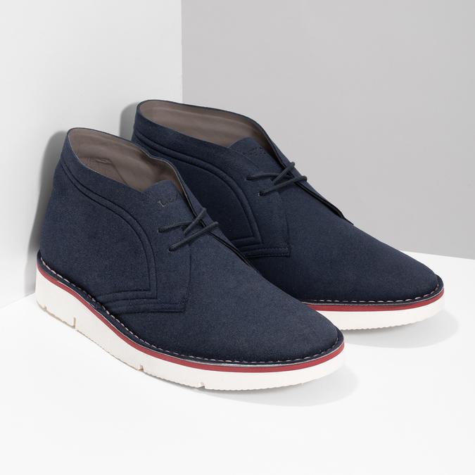 Modrá pánska ležérna členková obuv bata-b-flex, modrá, 899-9600 - 26