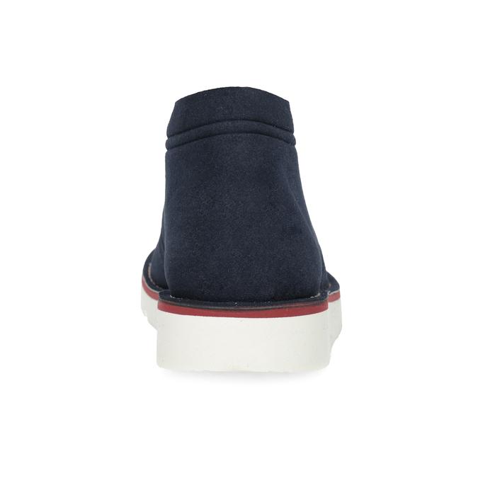Modrá pánska ležérna členková obuv bata-b-flex, modrá, 899-9600 - 15