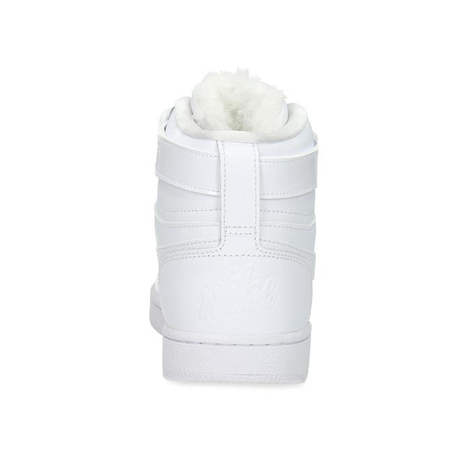 Dámske biele členkové tenisky nike, biela, 501-1944 - 15