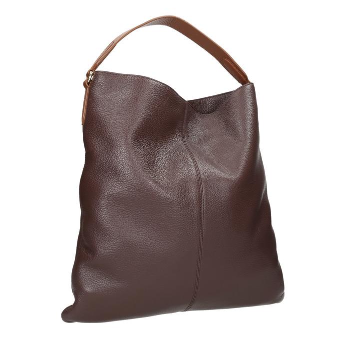 Dámska kožená Hobo kabelka bata, hnedá, 964-4236 - 13