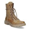 Svetlohnedá dámska kožená obuv weinbrenner, hnedá, 596-3758 - 13