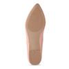 Dámske baleríny do špičky ružové bata-red-label, ružová, 521-5644 - 18