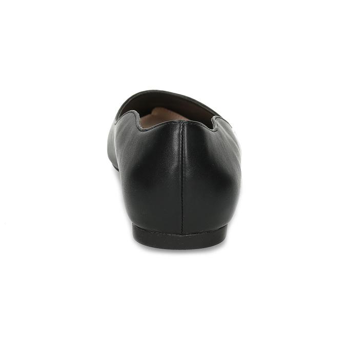 Čierne baleríny do špičky bata-red-label, čierna, 521-6644 - 15