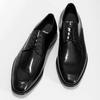 Kožené čierne derby poltopánky bata, čierna, 824-6837 - 16