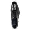 Pánske čierne kožené Oxford poltopánky bata, čierna, 824-6878 - 17