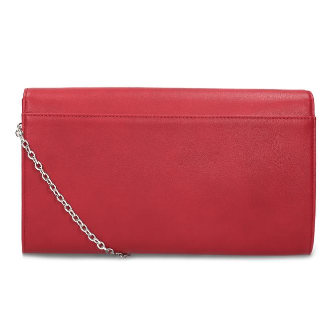 Dámska červená listová kabelka bata-red-label, červená, 961-5943 - 16