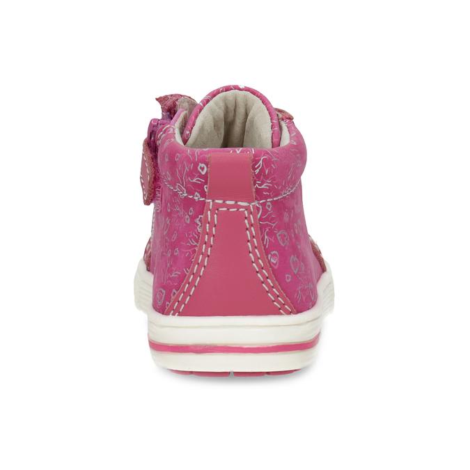 Ružové detské členkové tenisky s potlačou bubblegummers, ružová, 124-5637 - 15