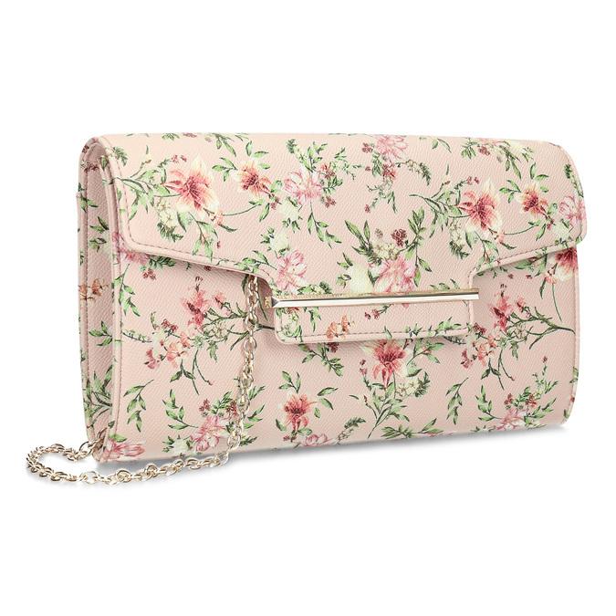 367eeadf5 Listová kabelka s kvetinovým vzorom a retiazkou bata-red-label,  viacfarebné, 961