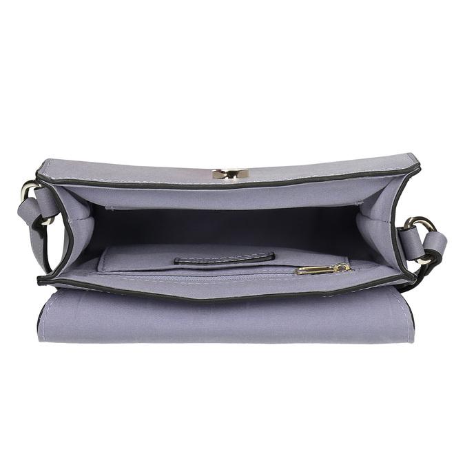 Šedá kabelka s kožušinovým príveskom bata-red-label, šedá, 961-9942 - 15