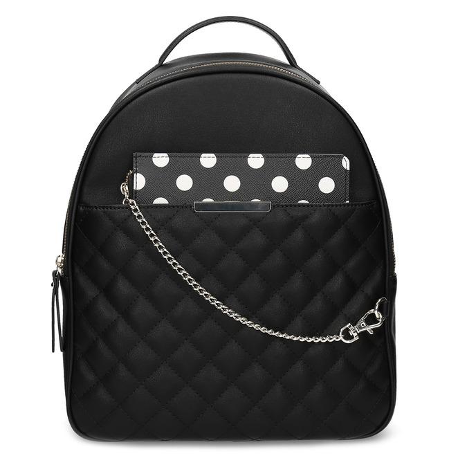 Dámsky batôžtek s čiernym odopínateľným vreckom bata-red-label, čierna, 961-6945 - 26