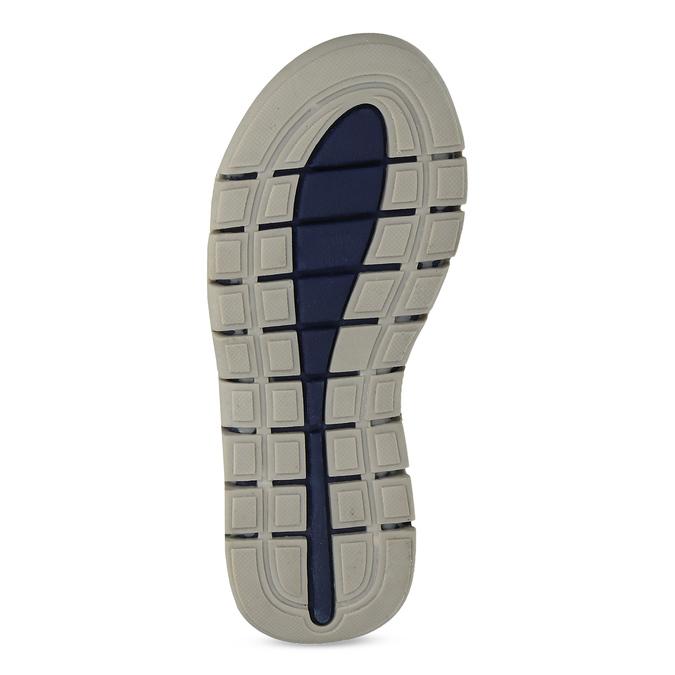 Chlapčenské sandále na suchý zips modré mini-b, modrá, 263-9605 - 18
