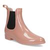 Béžové Chelsea členkové gumáky bata, ružová, 592-5610 - 13