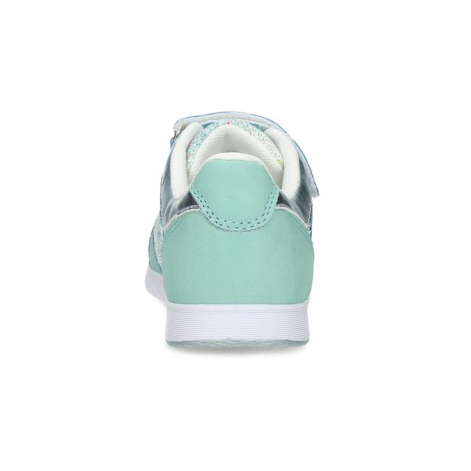 Dievčenské modré tenisky s kamienkami mini-b, 329-7617 - 15