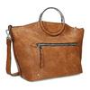 Hnedá dámska kabelka s kovovými rúčkami bata, hnedá, 961-3934 - 13