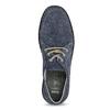 Tmavomodré kožené pánske tenisky comfit, modrá, 843-9650 - 17