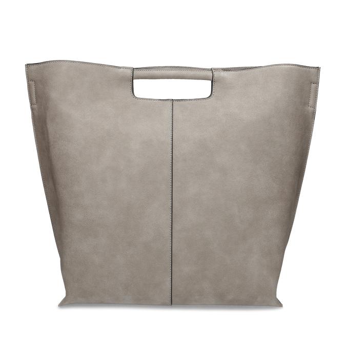 Dámska šedá kabelka s prešitím bata-red-label, šedá, 961-2958 - 26