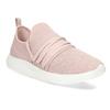 Ružové dámske tenisky na bielej podrážke bata-red-label, ružová, 519-5607 - 13
