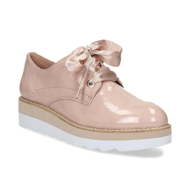 5cfbe2d2e087 Baťa Dámske poltopánky s mašľou ružové - Všetky topánky