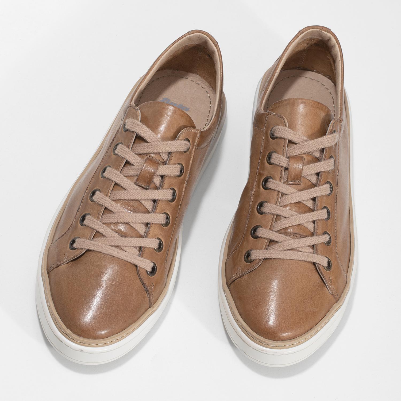 507723e22 ... Dámske hnedé kožené tenisky bata, hnedá, 544-3601 - 16 ...