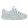 Kožené tenisky s mašľou modré bata, modrá, 543-9600 - 19