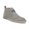 Pánske kožené Desert Boots šedé bata, šedá, 823-8655 - 13