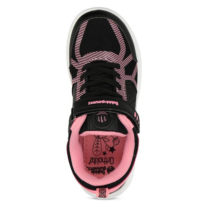 Dievčenské čierno-ružové tenisky bubble-breathe, čierna, 321-6172 - 17