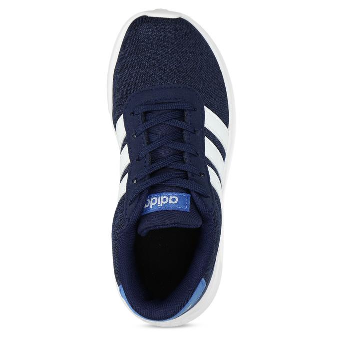 Úpletové modré tenisky chlapčenské adidas, modrá, 309-9209 - 17
