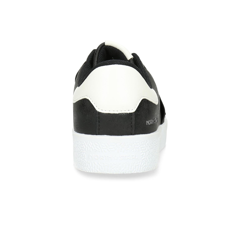c298a7d96 ... Čierne Slip-on tenisky s kamienkami north-star, čierna, 531-6600 ...