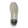 Dámske béžové tenisky s bielou podrážkou adidas, béžová, 509-3129 - 17