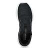 Dámske čierne tenisky s výraznou podrážkou adidas, čierna, 509-6129 - 17
