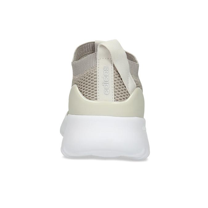 Dámske béžové tenisky s bielou podrážkou adidas, béžová, 509-3129 - 15