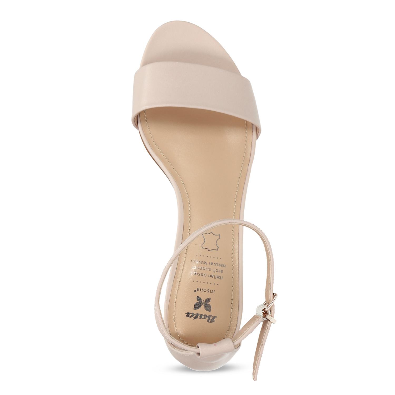 94a16fbcc920 Insolia Telové dámske sandále na nízkom podpätku - Sandále