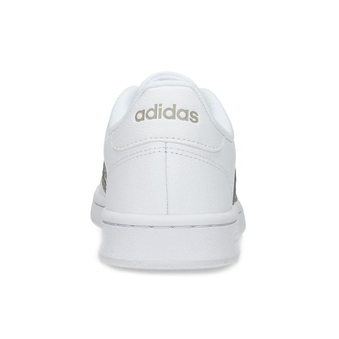 Biele dámske ležérne tenisky adidas, biela, 501-1249 - 15