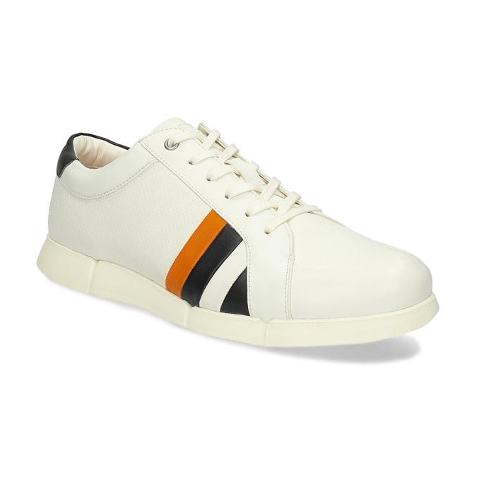 6a953e00e94c Bata B Flex Pánske biele tenisky s pruhmi - Všetky topánky