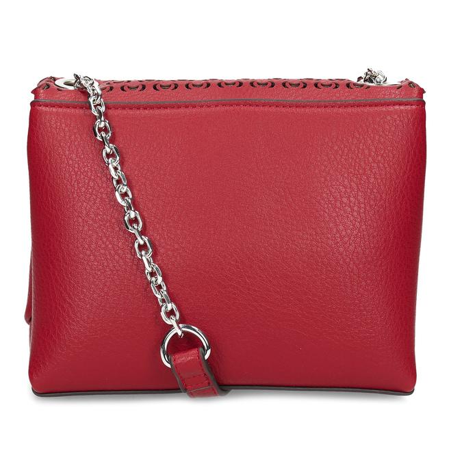 Červená Crossbody kabelka s perforáciou bata, červená, 961-5941 - 16