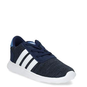 Detské úpletové tenisky modré adidas, modrá, 109-9243 - 13