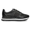 Čierne dámske tenisky s výraznou podrážkou bata-light, čierna, 521-6647 - 19