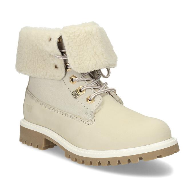 0e29005a5c6a2 Weinbrenner Béžová dámska zimná obuv kožená - Bez podpätku | Baťa.sk