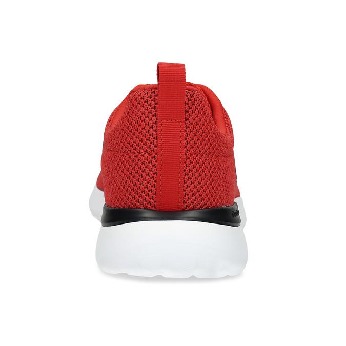 Pánske červené tenisky s čiernymi detailmi adidas, červená, 809-5127 - 15