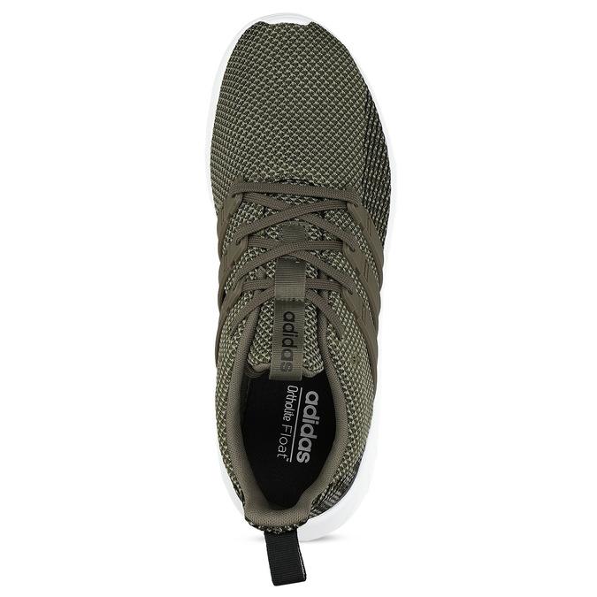 Pánske zelené tenisky v športovom štýle adidas, zelená, 809-7218 - 17